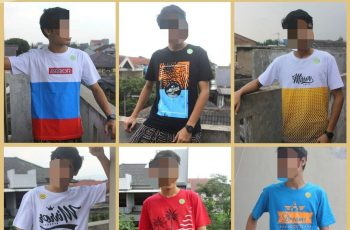 Supplier Kaos Distro Mirror brand Original Dewasa Murah di Bandung