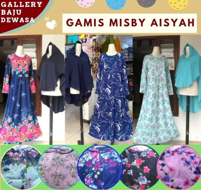 gamis misby aisyah